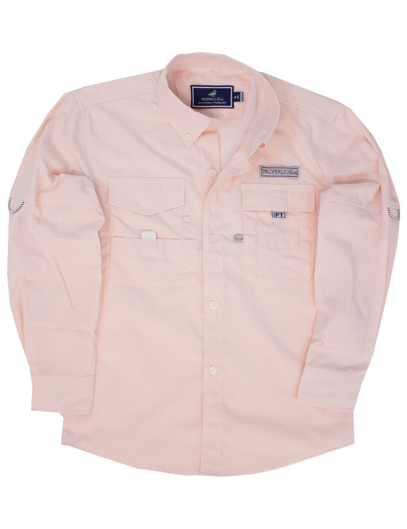 LD Performance Fishing Shirt Melon