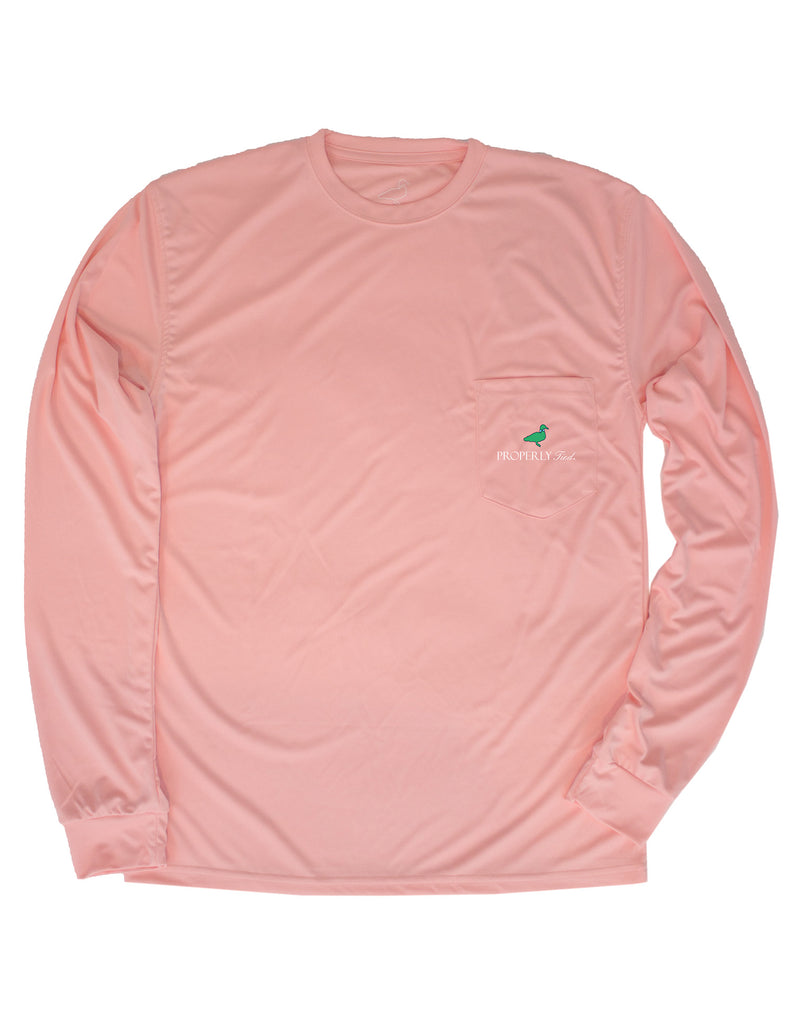 Performance Long Sleeve Tee Melon