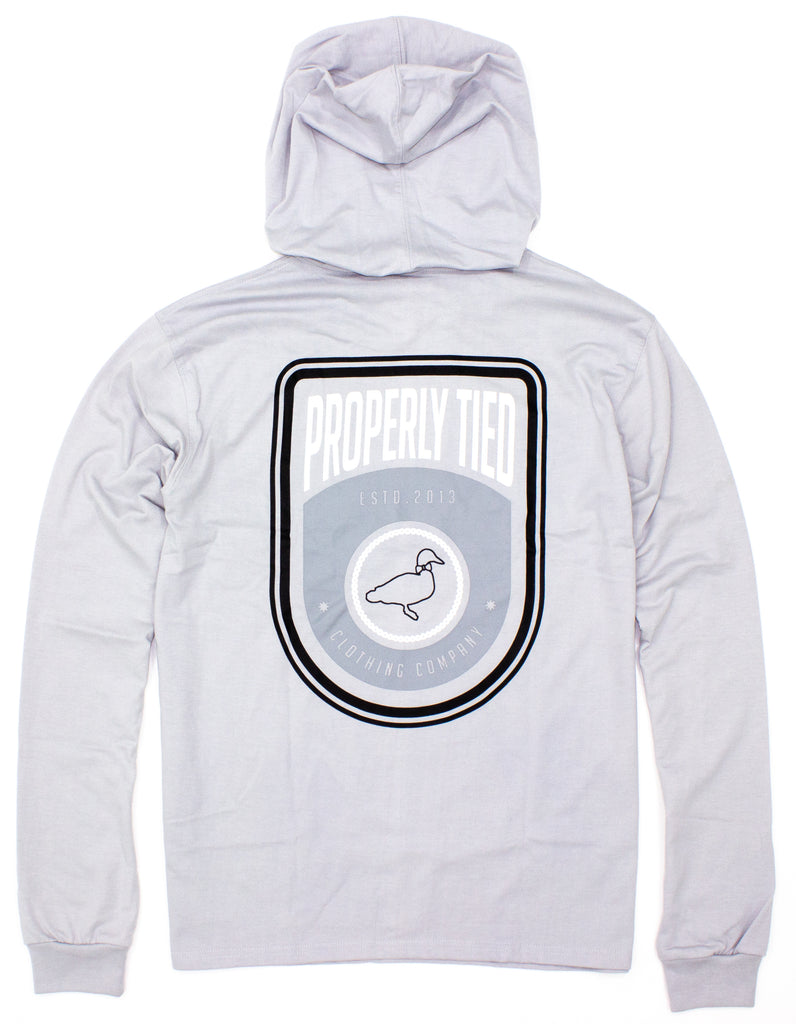 Mountain Hoodie Ice Grey
