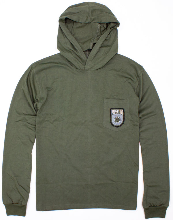 Mountain Hoodie Olive