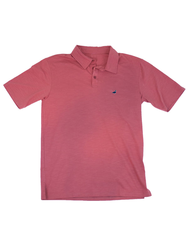 LD Breaker Polo Nantucket Red