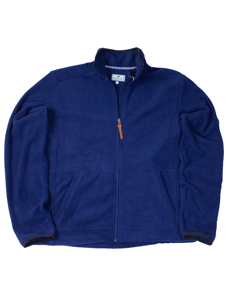 Austin Full Zip Navy