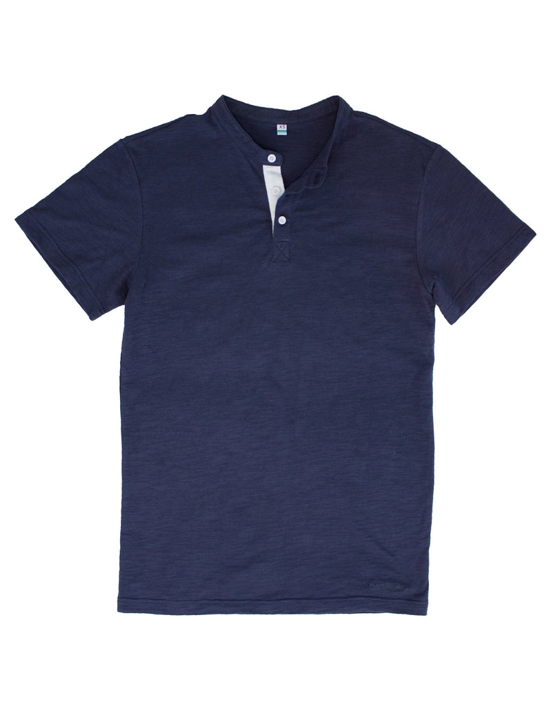 Skyline Henley Navy