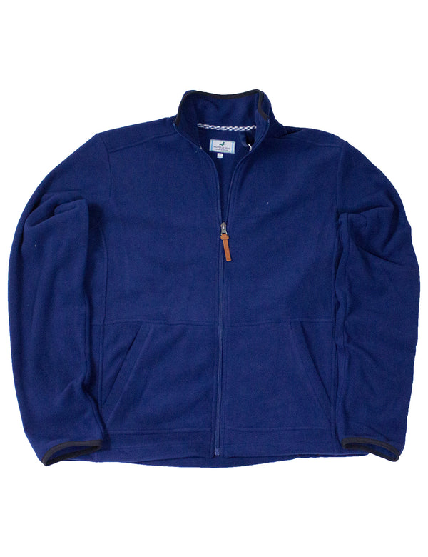 LD Austin Full Zip Navy