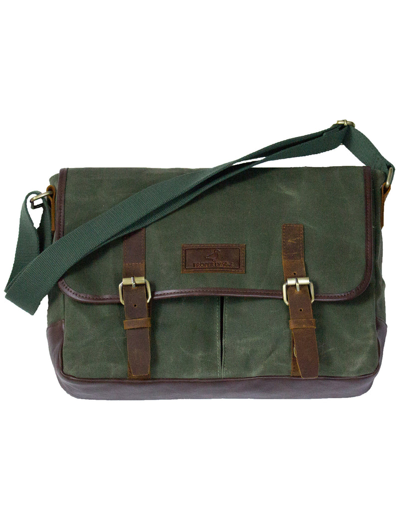 Summit Messenger Bag Olive