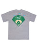 Opening Day Short Sleeve Light Heather Grey