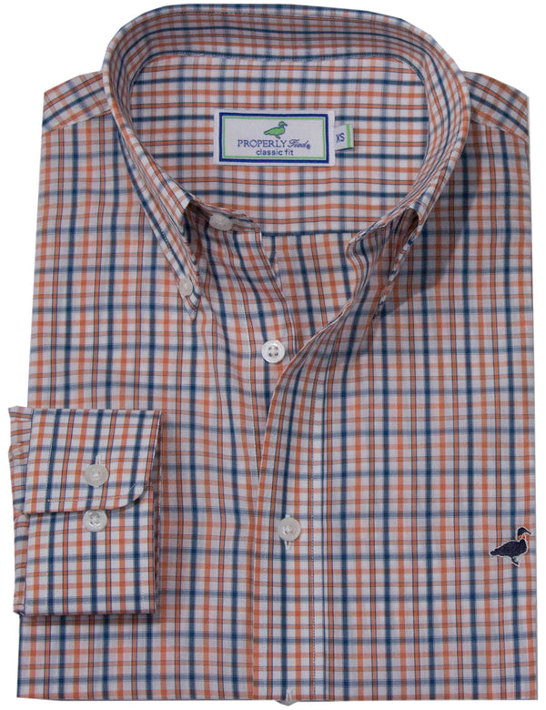 LD Seasonal Sportshirt Persimmon
