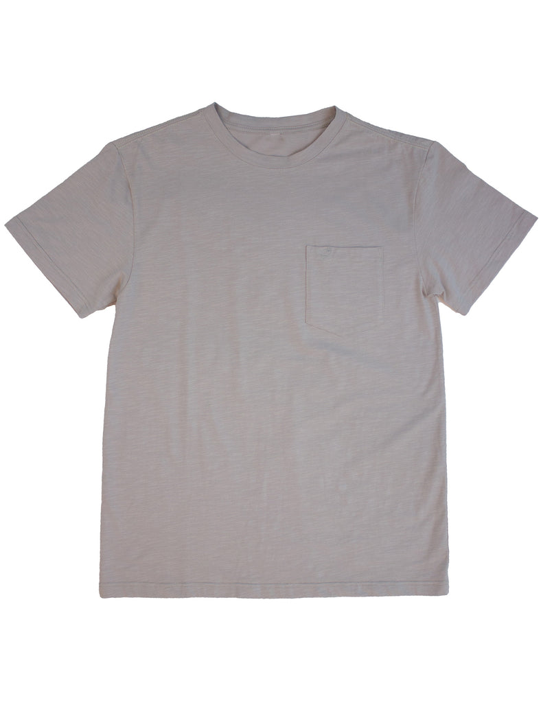 Shore Tee Short Sleeve Pewter