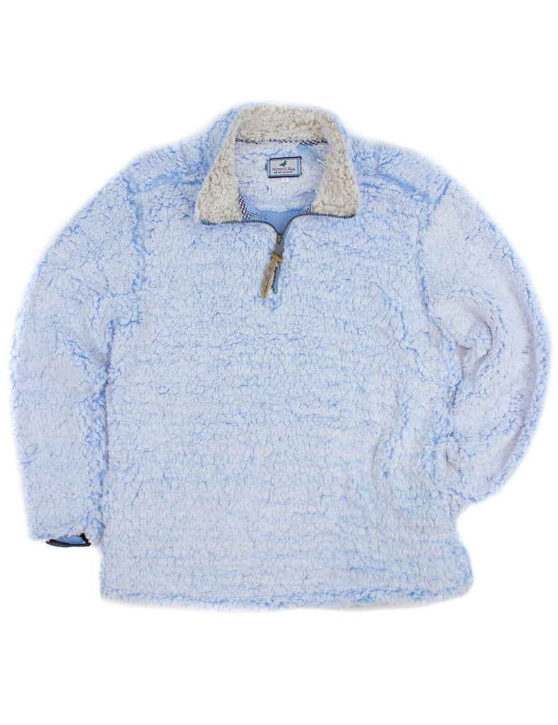 Pintail Pullover Light Blue Frost