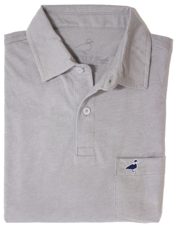 LD Pocket Polo Light Grey
