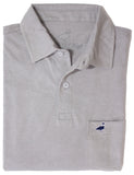 Pocket Polo Light Grey
