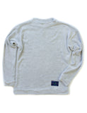 Basic Rag Crew Cream