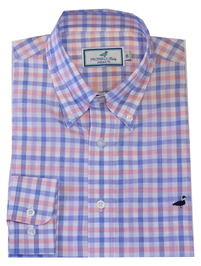 Seasonal Sportshirt Santorini Peach
