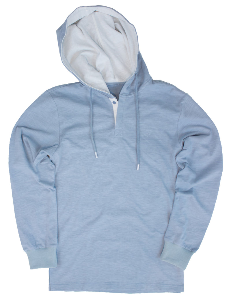 LD Pacific Hoodie Washed Blue