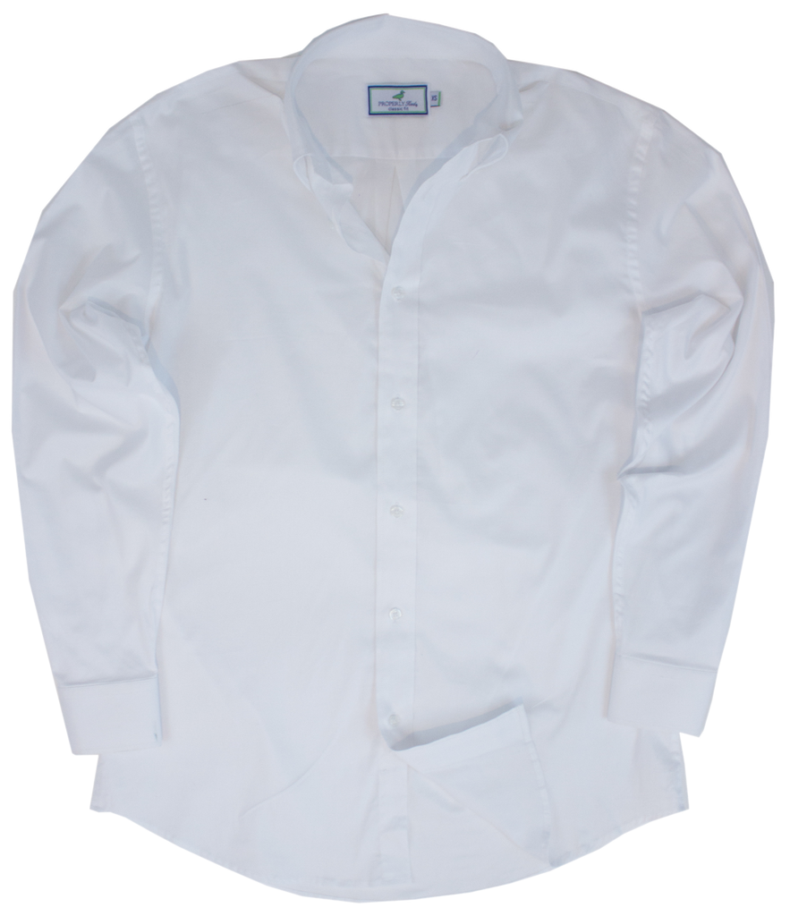 Lightweight Dress Shirt White