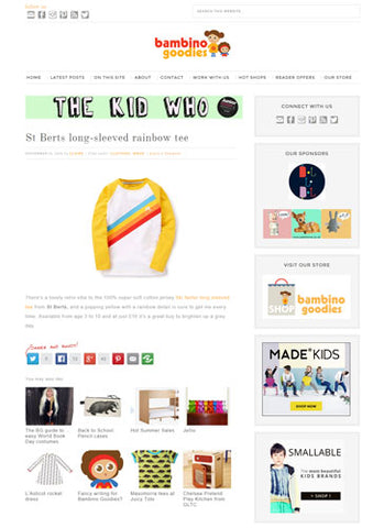 Bambino Goodies Website