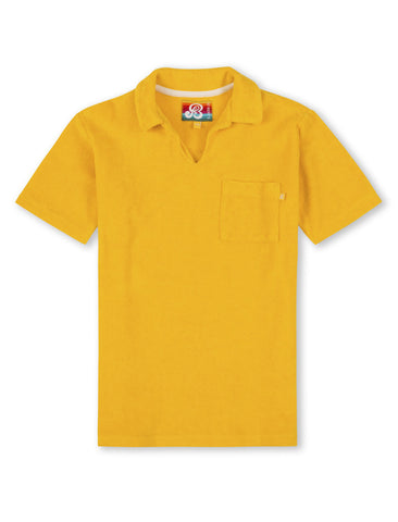 Terry Polo Shirt - Freesia Yellow