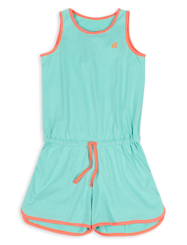 Playsuit - Bermuda Green
