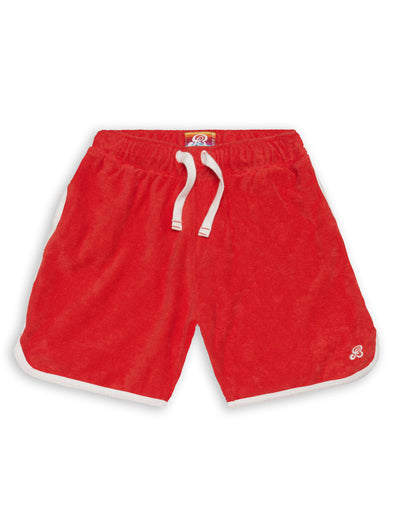 Long Terry Shorts - Poppy Red