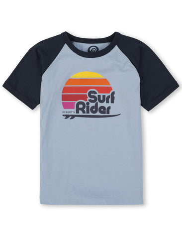 T-Shirt Surf Rider - Bluebell