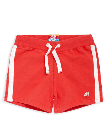 Girls Shorts - Poppy Red