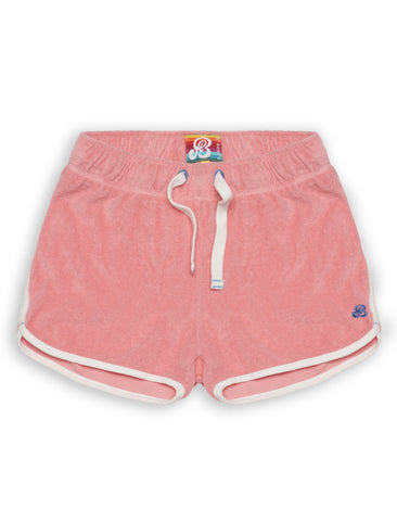 Short Terry Shorts - Flamingo Pink