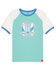 T-Shirt Surfboards - Bermuda Green