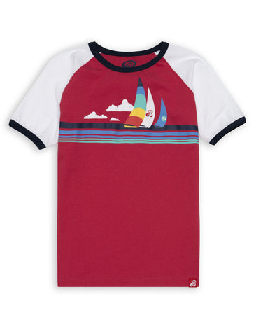 T-Shirt Sailboats - Ski Patrol