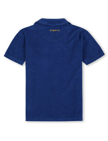 Terry Polo Shirt - Dazzling Blue