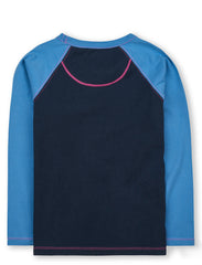 T-Shirt Mountain Ski - Dress Blue