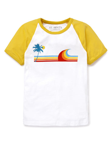 T-Shirt Wave - Freesia Yellow