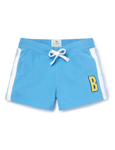 Girls Shorts - River Blue