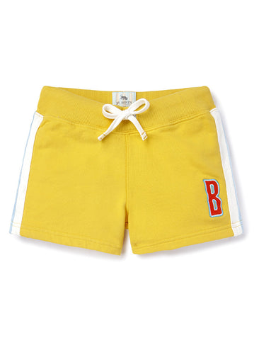 Girls Shorts - Freesia Yellow
