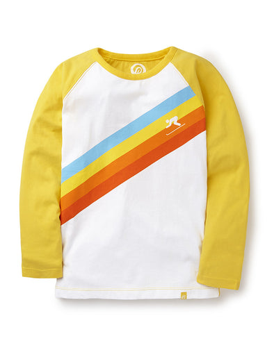 T-Shirt Ski Faster - Freesia Yellow