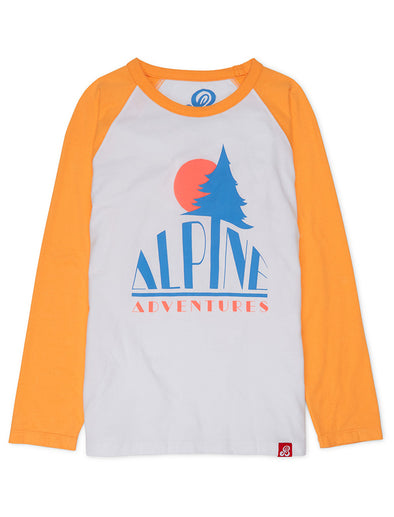 T-Shirt Alpine - Blazing Orange