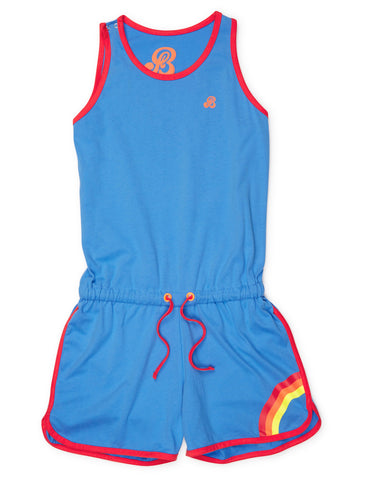 Playsuit - Marina Blue