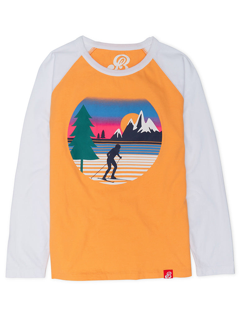 T-Shirt Country Ski - Blazing Orange