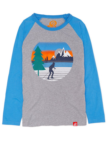 T-Shirt Country Ski - Nimbus Grey