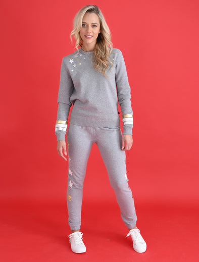 Women's Star Sweatpants - Nimbus Grey