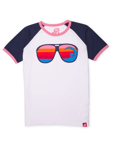 T-Shirt Sunglasses - Dress Blue