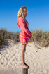 Girls Shorts - Coral