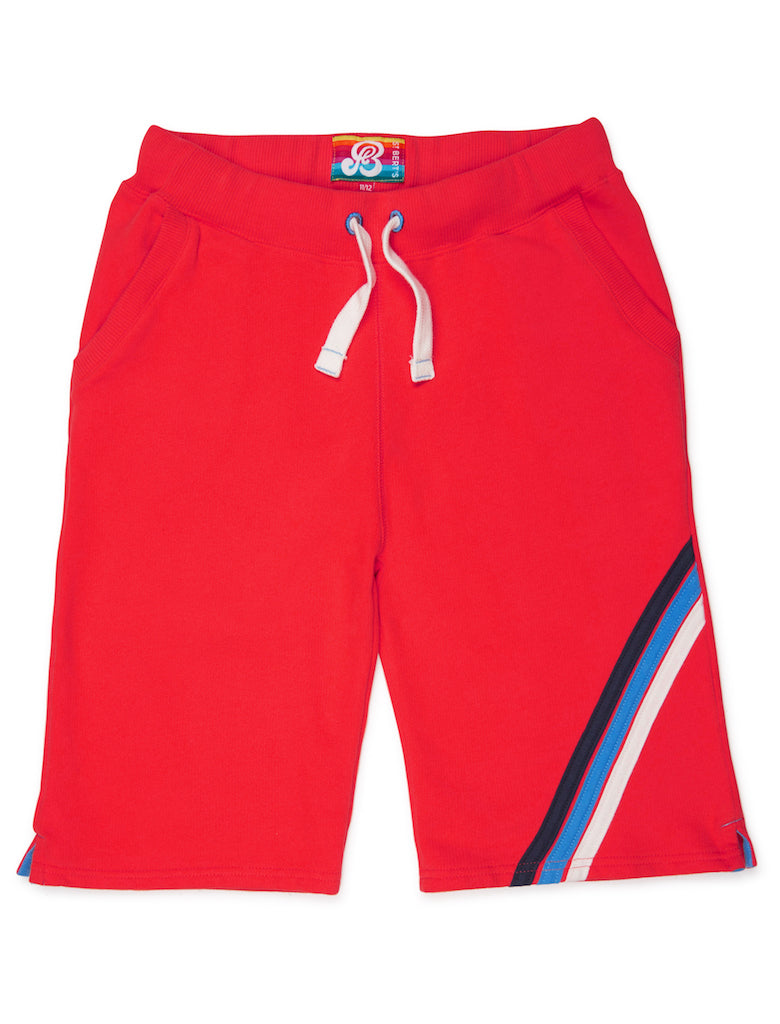 Boys Shorts - Poppy Red