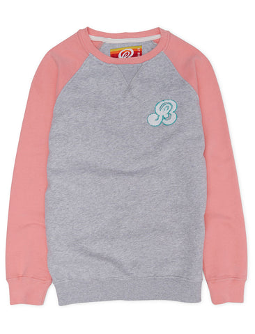 Sweatshirt - Flamingo Pink