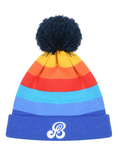 Adults Multicolour Bobble Hat