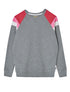 Panel Sweatshirt - Whippet Grey