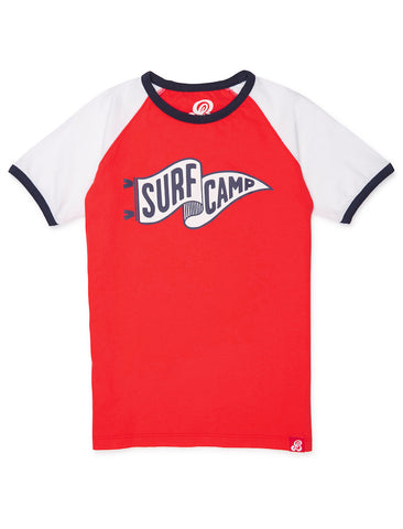 T-Shirt Surf Camp - Poppy Red