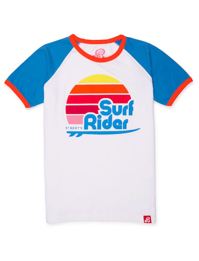 T-Shirt Surf Rider - Optic White