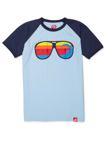 T-Shirt Sunglasses - Corydalis Blue