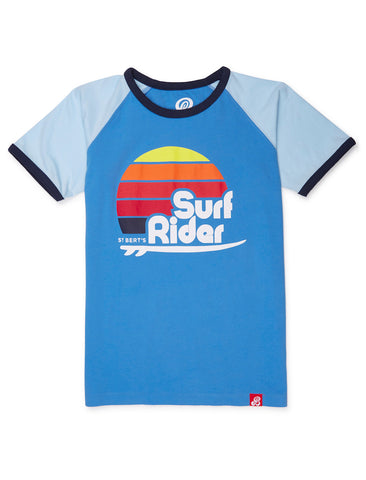 T-Shirt Surf Rider - Marina Blue