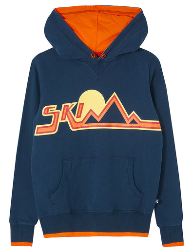 Ski Hoodie - Dress Blue